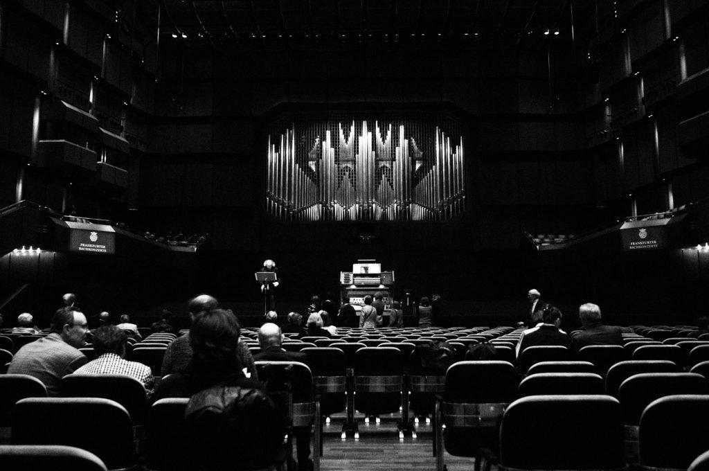 Orgel in der Alten Oper Frankfurt